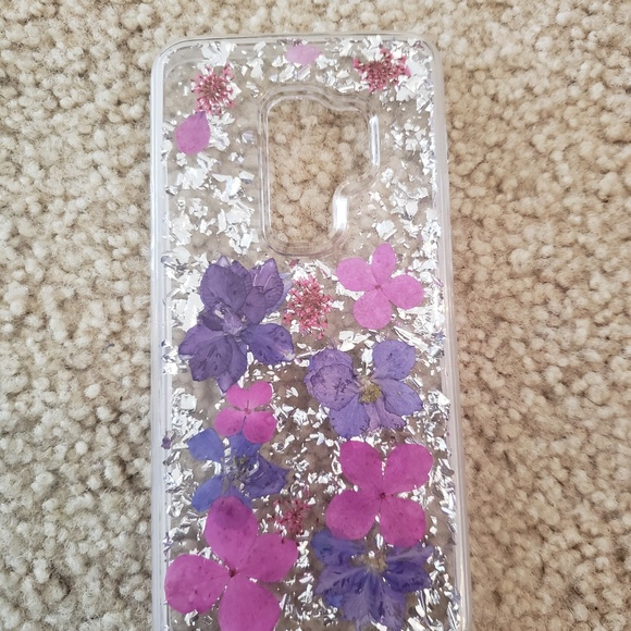 half off e9ef5 4fb76 Samsung Galaxy S9 Plus karat flowers case